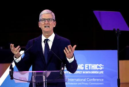 Apple CEO Tim Cook blasts 'weaponisation' of personal data