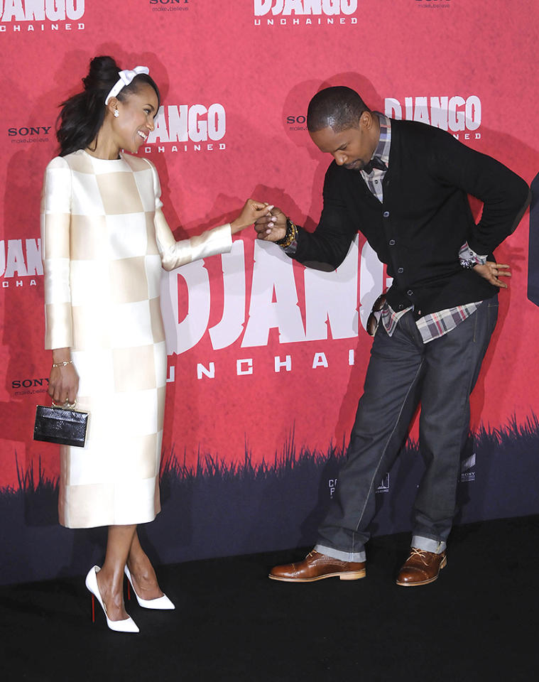 Celebrities attend a photocall for the film 'Django Unchained' in Berlin, Germany.