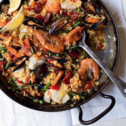 Paella: Food: New Recipe: Redonline