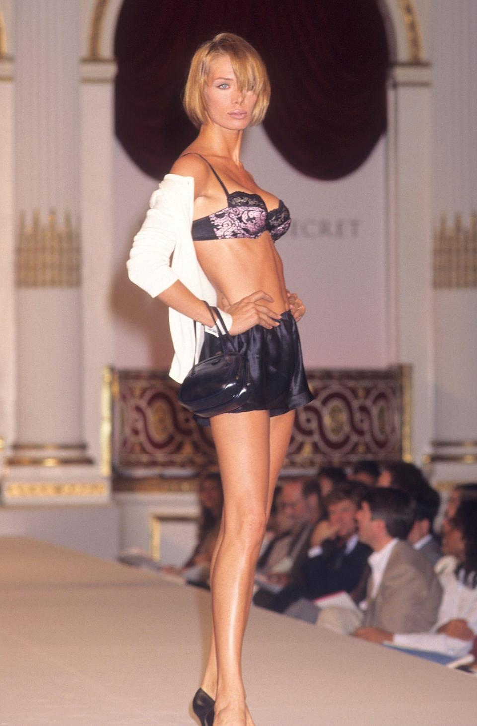The first Victoria's Secret fashion show was held in 1995 in New York.