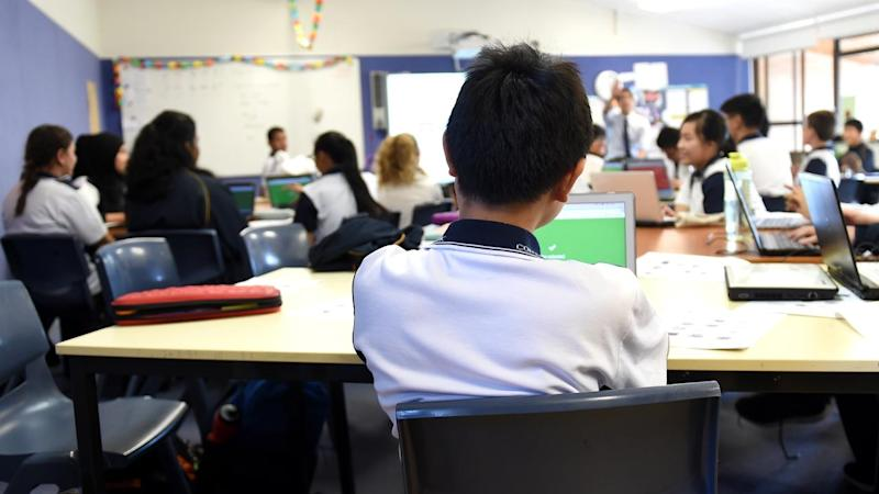 Victoria says the decision not to close schools is based on how the virus presented in children