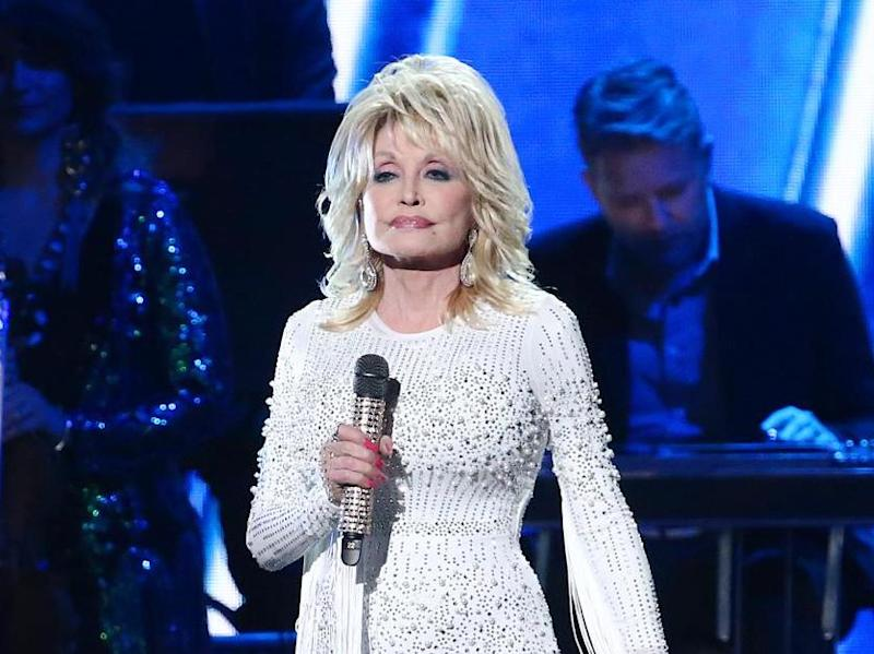 Dolly Parton performs onstage at the 53rd annual CMA Awards in Nashville, Tennessee, 2019: Getty Images