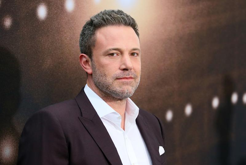 "US actor Ben Affleck arrives during the red carpet for Warner's premiere of ""The Way Back"" in Los Angeles, California on March 1, 2020. (Photo by Jean-Baptiste Lacroix / AFP) (Photo by JEAN-BAPTISTE LACROIX/AFP via Getty Images)"