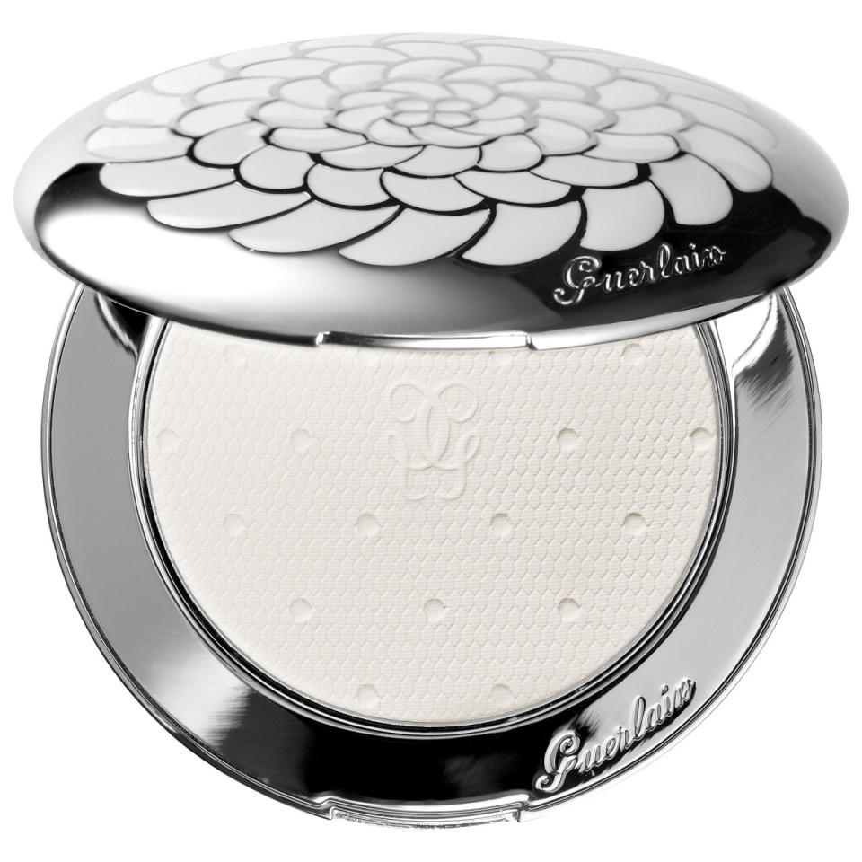 """<p>A matte powder compact that is perfect for eliminating shine while illuminating the skin. <a href=""""http://shop.nordstrom.com/s/guerlainmeteorites-voyage-enchante-illuminating-matte-powder-limited-edition/4172771?origin=category-personalizedsort&contextualcategoryid=0&fashionColor=&resultback=879"""">Guerlain Météorites Voyage Enchaté Illuminating Matte Powder</a> ($179)<br /></p>"""