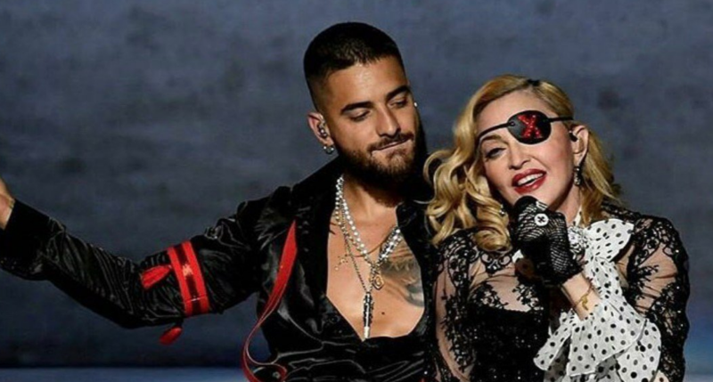 Maluma Says He 'Enjoyed' Madonna Licking His Toes in 'Medellín' Music Video