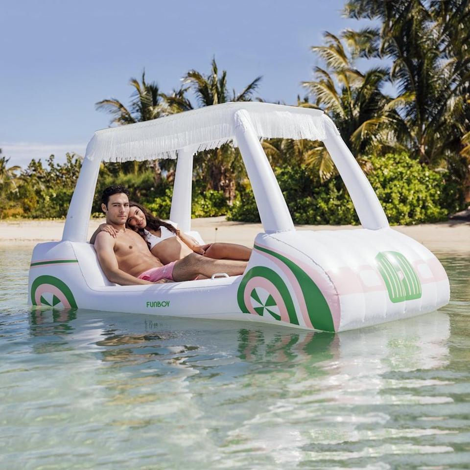 <p>Hang out in this incredible <span>Funboy Golf Cart Float</span> ($129).</p>