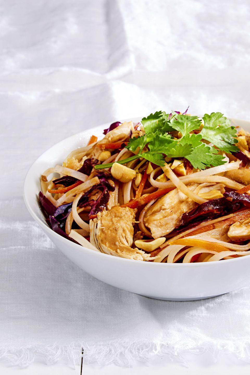 "<p>Have dinner ready in six minutes — not even joking.</p><p><em><a href=""https://www.goodhousekeeping.com/food-recipes/easy/a36675/nutty-chicken-noodles/"" rel=""nofollow noopener"" target=""_blank"" data-ylk=""slk:Get the recipe for Nutty Chicken Noodles »"" class=""link rapid-noclick-resp"">Get the recipe for Nutty Chicken Noodles »</a></em></p>"