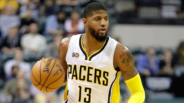 With rumors swirling that Paul George was going to leave the Pacers, he reaffirmed that he will be staying in Indianapolis — for now.