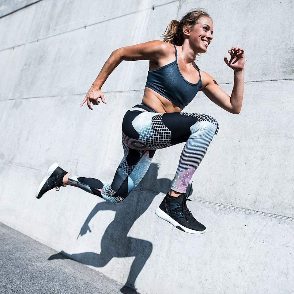 "<p>Want an intense workout you can do just with your bodyweight? All you need is this <a href=""https://www.shape.com/fitness/workouts/8-benefits-high-intensity-interval-training-hiit"" target=""_blank"">high-intensity interval-training (HIIT)</a> plan for women to blast fat and develop muscle tone from head to toe.</p> <p><strong>How it works:</strong> This full-body HIIT workout circuit uses a 2:1 interval ratio, which means you'll work at a moderate intensity for 2 minutes and then push your body to its limit for 1 minute. Do each full-body HIIT workout move back to back, with minimal rest in between moves. Repeat the entire circuit 2 or 3 times total.</p> <p><strong>What you'll need: </strong>Just yourself! (Although these <a href=""https://www.shape.com/fitness/tips/how-make-your-workout-feel-easier"" target=""_blank"">tricks to make any workout easier</a> can't hurt...)</p>"