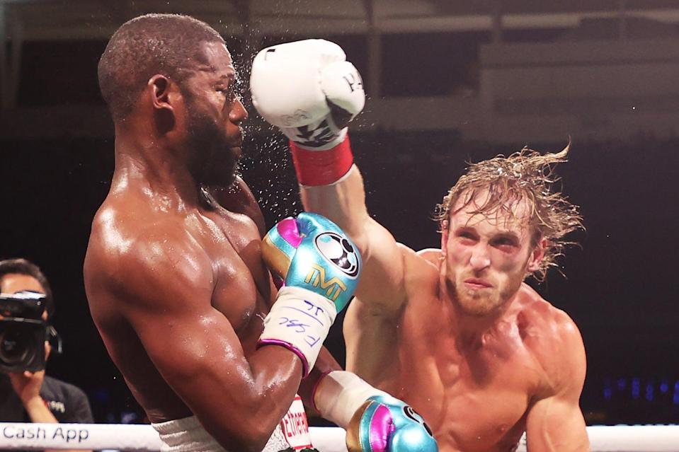 <p>Logan Paul upset the odds to go eight rounds with Floyd Mayweather</p> (Getty Images)