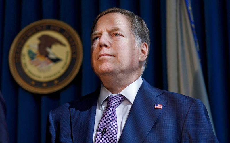 Geoffrey Berman was unexpectedly dismissed as United States attorney for the Southern District of New York last month - JUSTIN LANE/EPA-EFE/Shutterstock