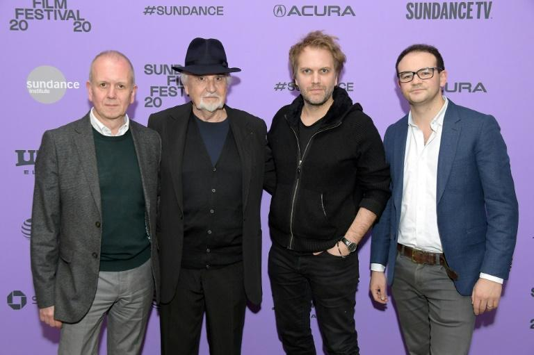 """Florian Zeller (2nd from Right) looks set for Oscars glory with his first film """"The Father"""", which has proved a huge success"""