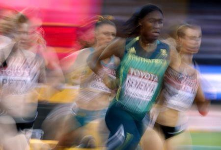 Athletics - World Athletics Championships - Women's 800 Metres Heats - London Stadium, London, Britain – August 10, 2017. Caster Semenya of South Africa in action. REUTERS/Phil Noble