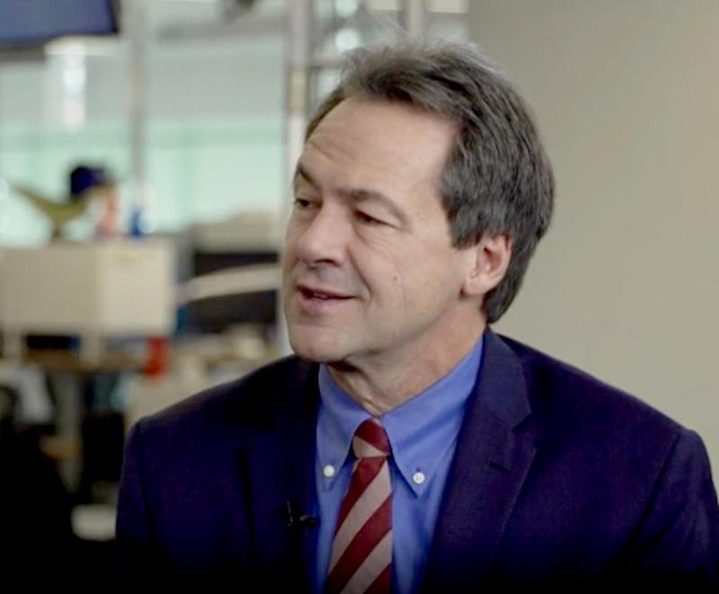 Montana Gov. Steven Bullock, Democratic presidential candidate, at USA TODAY on Nov. 7, 2019.