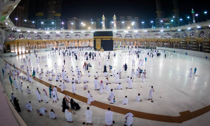 Saudi Arabia says will open Umrah pilgrimage to Muslims from abroad from November 1: Saudi media