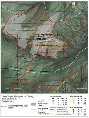 X-Terra Resources completes geochemical and ground geophysics at Grog, expands drilling plans (CNW Group/X-Terra Resources Inc.)