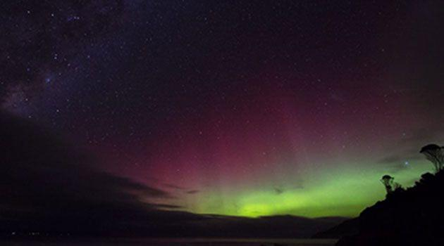 The Aurora Australis. Photo: Leoni Williams
