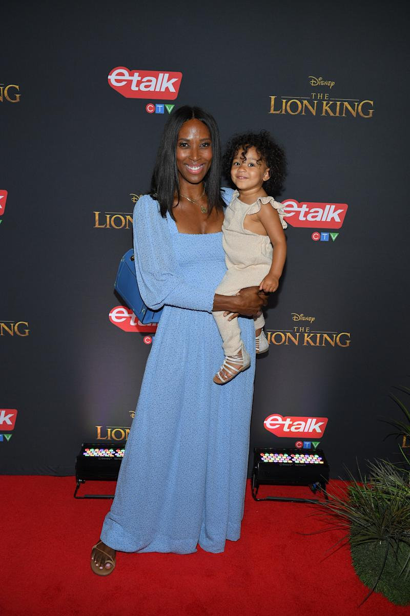 TORONTO, ONTARIO - JULY 17:Sasha Exeter attends 'The Lion King' Canadian Premiere held at Scotiabank Theatre on July 17, 2019 in Toronto, Canada. (Photo by George Pimentel/Getty Images for Disney Studios)