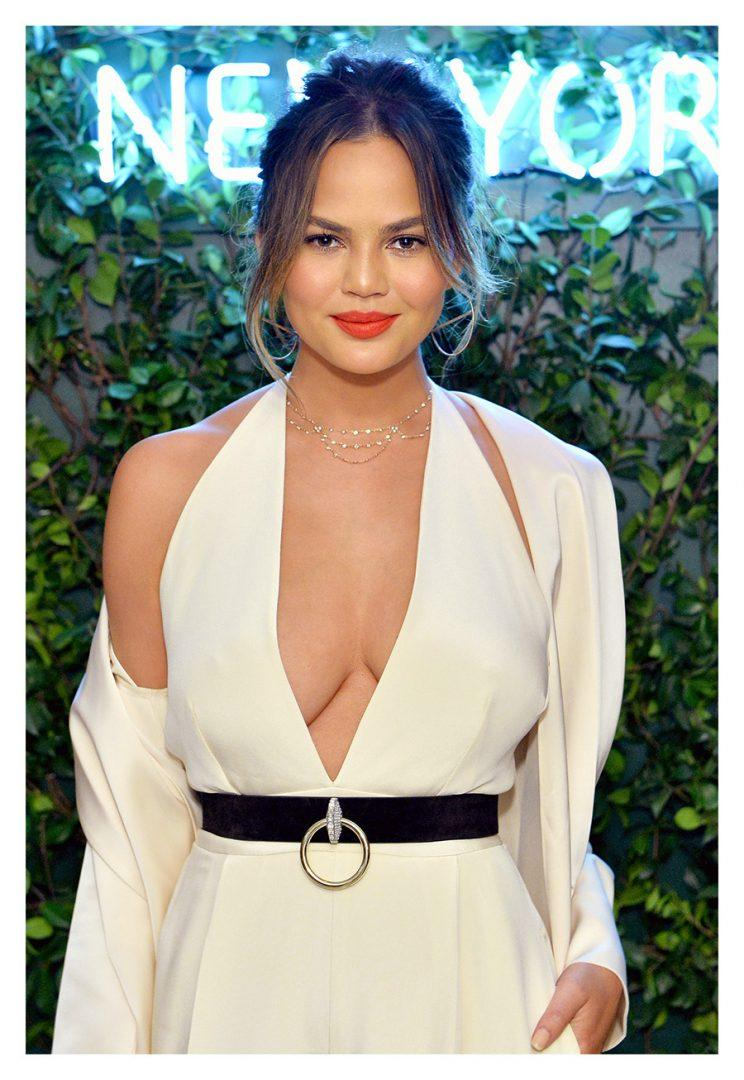 Teigen and her mom are cooking Thanksgiving dinner for 18. (Photo by Stefanie Keenan/Getty Images for Glamour)