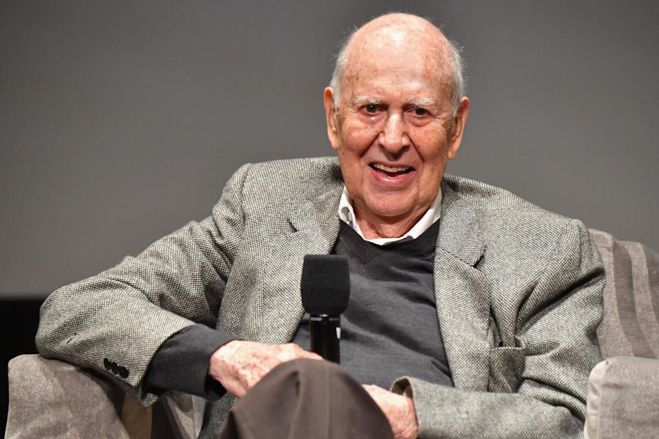 """Comedy icon Carl Reiner, a prolific writer, producer, director and actor who created """"The Dick Van Dyke Show,"""" died on June 29, 2020 at the age of 98."""