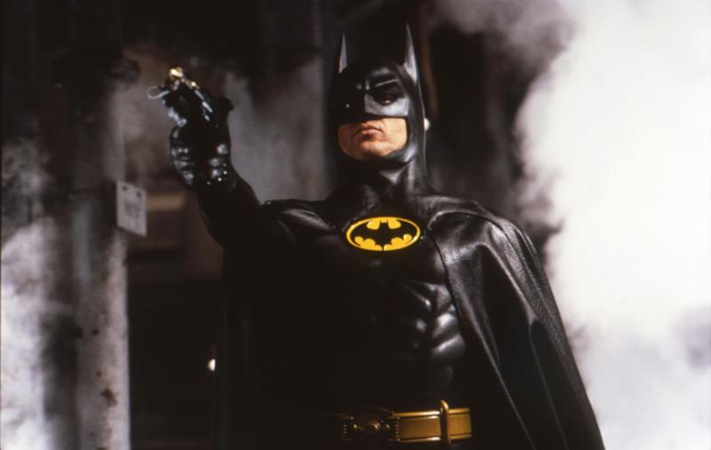 "Michael Keaton in ""Batman."""