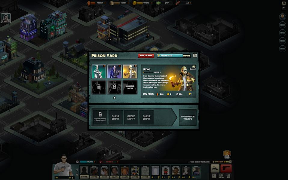 Mobsters Criminal Empire screens
