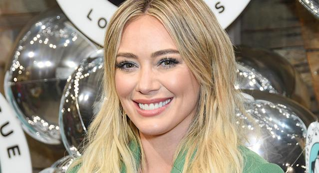 Hilary Duff wed Matthew Koma at the weekend. [Photo: Getty]