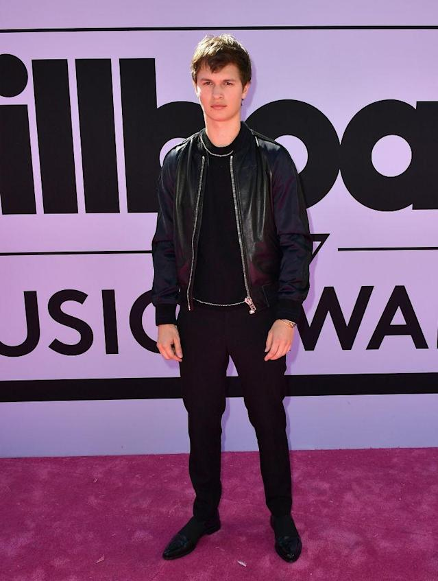 <p>The singer/actor is dapper in Givenchy. (Photo: Getty Images) </p>