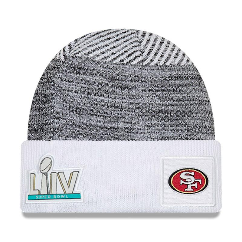 49ers Super Bowl LIV Bound Sideline Cuff Hat