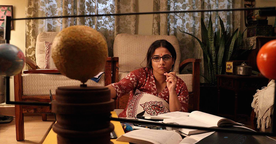 """Surely, a film about one of India's greatest scientific leaps needed better than corny lines like """"NASA se satya-NASA"""" and Akshay Kumar's exasperating enthusiasm. The actor who holds the film together is Vidya Balan, who fluently plays the role of a scientist attempting an unimaginable feat while balancing her responsibilities at home as well as the dichotomy between her science and her faith."""