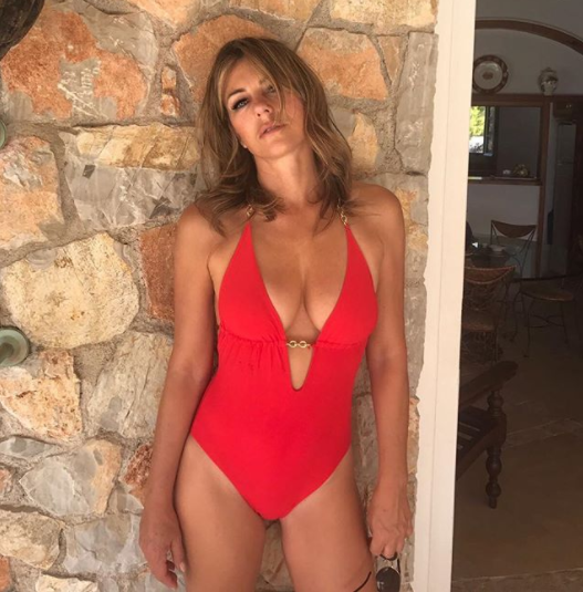 Liz is made for swimwear. Photo: Instagram/Elizabeth Hurley