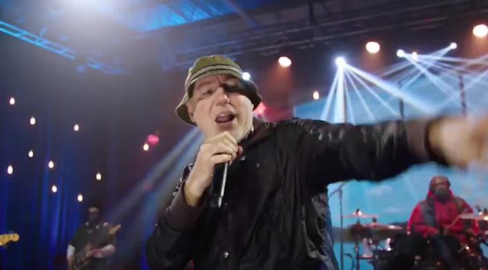 <p>New Radicals reunite for first time in 22 years at Biden-Harris Inauguration Day celebration</p> (Biden Inaugural Committee/Twitter)