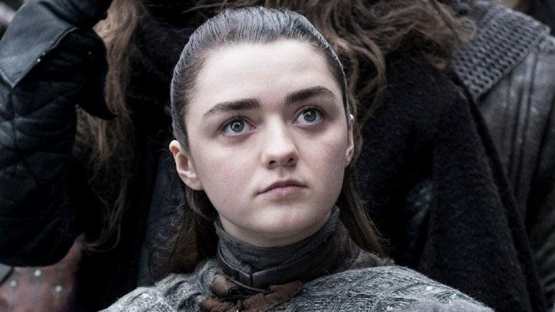 New Game Of Thrones Season 8 Footage: Guess What Arya's Gazing At?