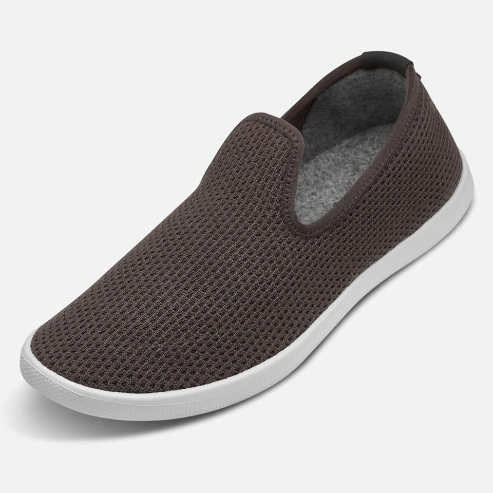 """<h2>Allbirds Tree Loungers</h2><br><strong>Under $100</strong><br>These lightweight, lyocell-blend slip-ons are sure-fire crowd-pleasers. Made from a breathable eucalyptus-tree fiber and lined with merino wool, they're the perfect indoor-to-outdoor footwear. They're also machine-washable to make life a little easier. <br><br><em>Shop <strong><a href=""""https://www.allbirds.com/"""" rel=""""nofollow noopener"""" target=""""_blank"""" data-ylk=""""slk:Allbirds"""" class=""""link rapid-noclick-resp"""">Allbirds</a></strong></em><br><br><strong>Allbirds</strong> Tree Loungers, $, available at <a href=""""https://go.skimresources.com/?id=30283X879131&url=https%3A%2F%2Fwww.allbirds.com%2Fproducts%2Fmens-tree-loungers"""" rel=""""nofollow noopener"""" target=""""_blank"""" data-ylk=""""slk:Allbirds"""" class=""""link rapid-noclick-resp"""">Allbirds</a>"""