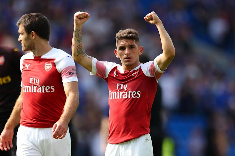Starting: Lucas Torreira: Getty Images