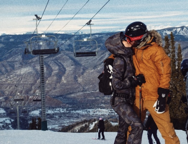"<p>The 38-year-old actress managed to keep warm on the slopes with boyfriend Danny Fujikawa. ""My valentine,"" she captioned this love-filed photo. (Photo: <a href=""https://www.instagram.com/p/BfMa6c6gEVQ/?taken-by=katehudson"" rel=""nofollow noopener"" target=""_blank"" data-ylk=""slk:Kate Hudson via Instagram"" class=""link rapid-noclick-resp"">Kate Hudson via Instagram</a>) </p>"