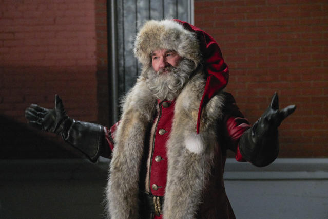 Kurt Russell in The Christmas Chronicles (Netflix)