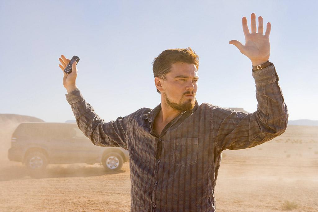 "Leonardo DiCaprio climbed onto the A-list as the romantic lead in movies like ""Titanic"" and ""Romeo and Juliet,"" but in 2008's ""Body of Lies"" his partner is none other than Russell Crowe. The two play a CIA agent (DiCaprio) and his boss (Crowe) working to keep the world (and Leo's crush) out of the clutches of terrorists. Meanwhile, our hero looks hot as ever. ©Warner Bros./courtesy Everett Collection"