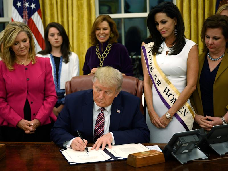 Donald Trump Takes Credit for Women's Suffrage Coin