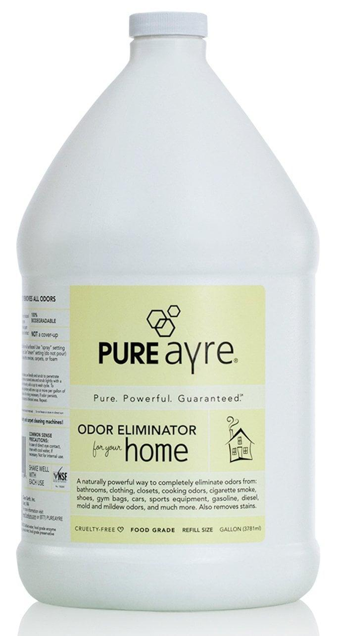 <p>Tackle the toughest odors in the safest way by using the <span>PureAyre All-Natural Plant-Based Home Odor Eliminator </span> ($42).</p>