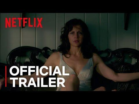 "<p>Handcuffed to the bed in a lake house without a soul in close proximity is not how we'd like to spend a Saturday morning. </p><p>As it turns out, neither does Jessie (Carla Gugino), who is left in such a sorry state after her husband's sex game goes topsy turvy. Based on Stephen King's novel Gerald's Game, Jessie must figure out a way to escape her situation and her mind playing tricks on her. </p><p><a class=""link rapid-noclick-resp"" href=""https://www.netflix.com/title/80128722"" rel=""nofollow noopener"" target=""_blank"" data-ylk=""slk:WATCH ON NETFLIX"">WATCH ON NETFLIX</a></p><p><a href=""https://www.youtube.com/watch?v=twbGU2CqqQU"" rel=""nofollow noopener"" target=""_blank"" data-ylk=""slk:See the original post on Youtube"" class=""link rapid-noclick-resp"">See the original post on Youtube</a></p>"