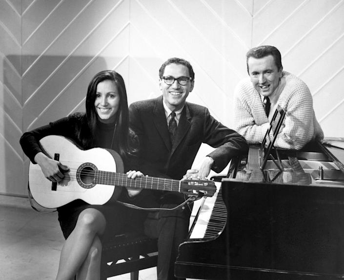 Felix appeared on Sir David Frost's The Frost Report (PA/PA Archive/PA Images)