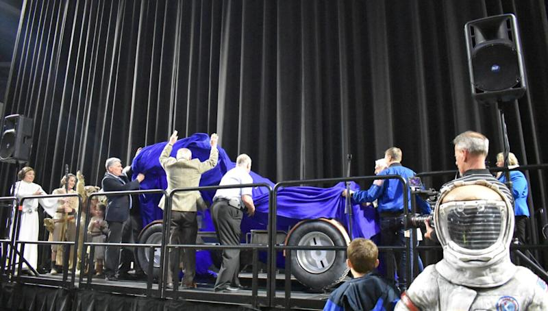 Rover unveiling