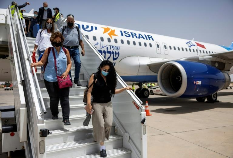 Israeli tourists arrive in Marrakesh; Morocco was one of four regional states to agree to normalise ties with Israel last year