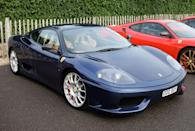 <p>The 360 Modena replaced the aging 355 as Ferrari's bread and butter mid-engine sports car, bearing a free-breathing V-8 and eye-catching looks.</p>