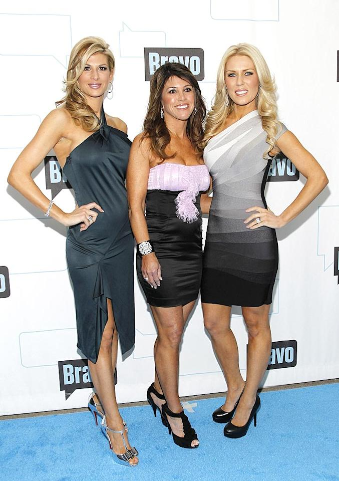 "A few of the O.C. ""Housewives"" -- Alexis Bellino, Lynne Curtin, and Gretchen Rossi -- were also in attendance. Where were Vicki and Tamra? Mark Von Holden/<a href=""http://www.wireimage.com"" target=""new"">WireImage.com</a> - March 10, 2010"