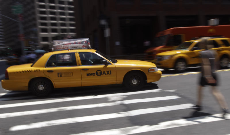 NYC taxi fares to increase 17 percent in Sept