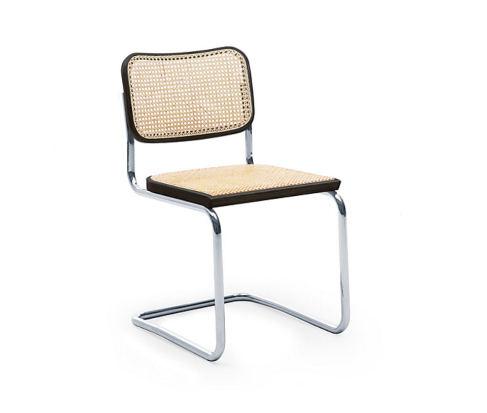 """<p><strong>Marcel Breuer</strong></p><p>dwr.com</p><p><strong>$931.00</strong></p><p><a href=""""https://go.redirectingat.com?id=74968X1596630&url=https%3A%2F%2Fwww.dwr.com%2Fdining-chairs-and-stools%2Fcesca-side-chair---cane%2F2020.html%3Flang%3Den_US&sref=https%3A%2F%2Fwww.redbookmag.com%2Fbeauty%2Fg37132432%2Fchair-types-styles-designs%2F"""" rel=""""nofollow noopener"""" target=""""_blank"""" data-ylk=""""slk:Shop Now"""" class=""""link rapid-noclick-resp"""">Shop Now</a></p><p>In 1925, Hungarian-American designer Marcel Breuer introduced the first chair made from tubular steel, the Wassily. Three years later, he (through Knoll) introduced the Cesca, a simplified design that marries traditional (the cane seat) and innovative (the cantilevered, steel base). The chair's s-shaped frame provides just enough bounce to make it comfortable without sacrificing support. The chair is in MoMA's permanent collection. </p>"""