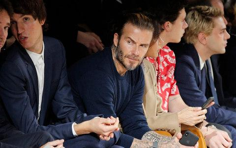 David Beckham - Credit: AP