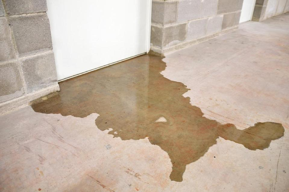 "Those wet spots on the floor of your basement mean it's time to call in a structural engineer or contractor. Pooling water in your basement is often an indication that you have leaks in the foundation of your home. ""These leaks can wreak havoc on the structure of your home, which could result in the need for costly repairs,"" says <strong>Chuck Naish</strong>, founder of <a href=""https://www.ottawahomewaterproofing.ca/"" rel=""nofollow noopener"" target=""_blank"" data-ylk=""slk:City Residential Foundation Repair"" class=""link rapid-noclick-resp"">City Residential Foundation Repair</a>."